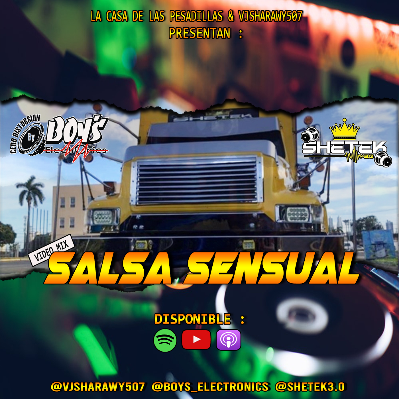 Salsa Sensual Video Mix By @VjSharawy507 Ft @Boys_electronics X @shetek3.0